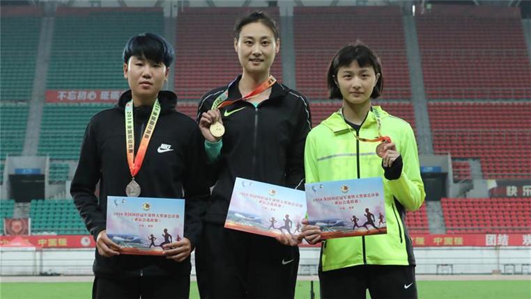 2018全國田徑冠軍賽:女子撐桿跳高賽況