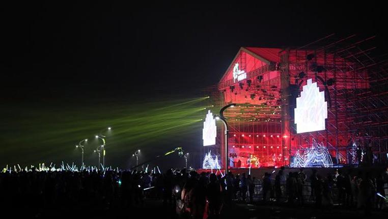 2018首屆國際球迷節暨小鎮音樂節開幕