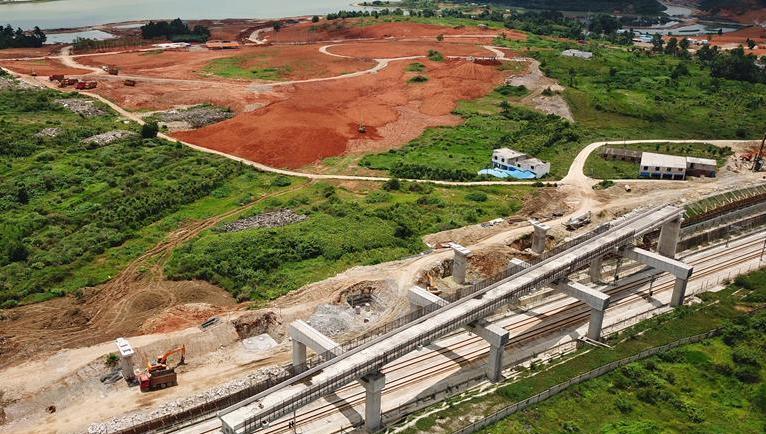 貴陽市域快鐵西南環線建設進展順利