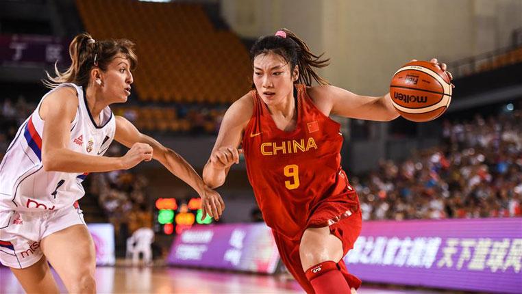 篮球——国际女篮锦标赛:中国胜塞尔维亚