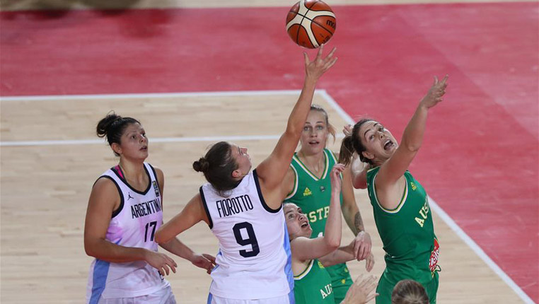 篮球——国际女篮锦标赛:澳大利亚胜阿根廷