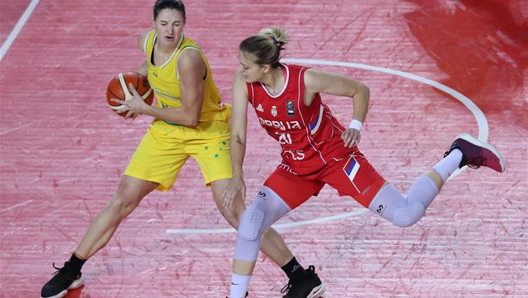 篮球——国际女篮锦标赛:澳大利亚胜塞尔维亚