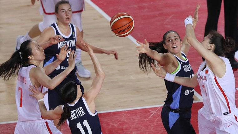 篮球——国际女篮锦标赛:中国胜阿根廷