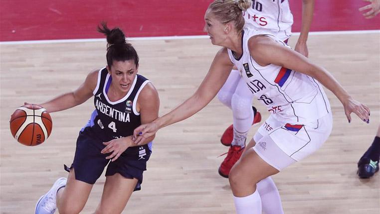 篮球——国际女篮锦标赛:塞尔维亚胜阿根廷