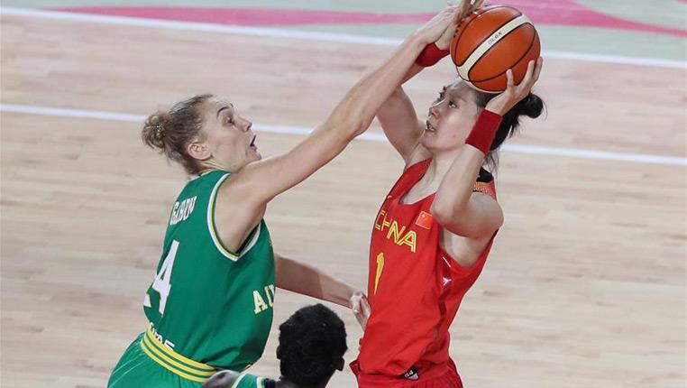 籃球——國際女籃錦標賽:中國不敵澳大利亞