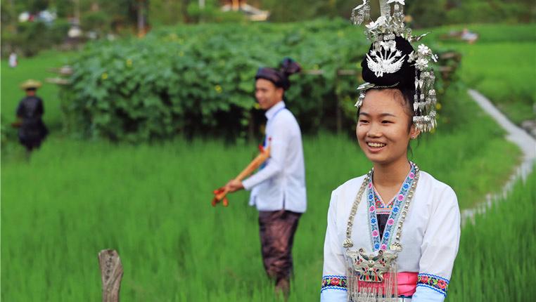 貴州鑾裏侗寨:美麗鄉村田園畫卷