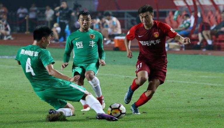 足球——中超:河北华夏幸福胜贵州恒丰