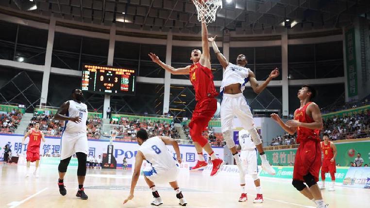 籃球——國際巔峰爭霸賽:中國國奧不敵美國