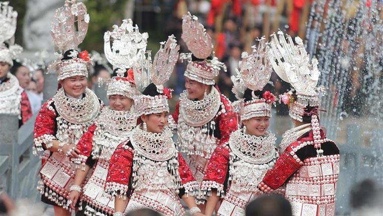 貴州劍河:仰阿莎文化活動周開幕