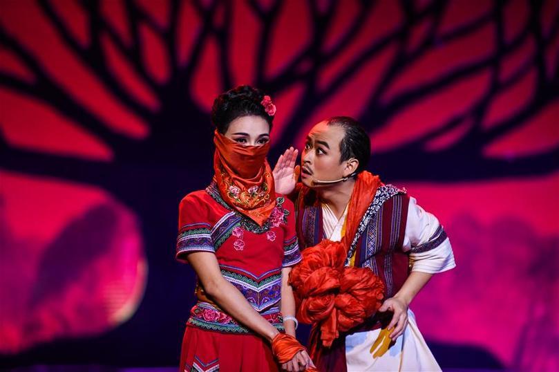 民族歌舞劇《白蓮》貴陽上演