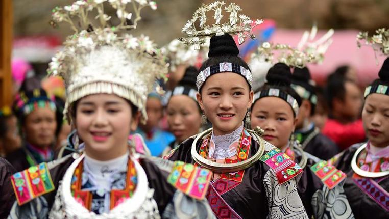 貴州丹寨:歡慶吃新節 歡樂慶豐收
