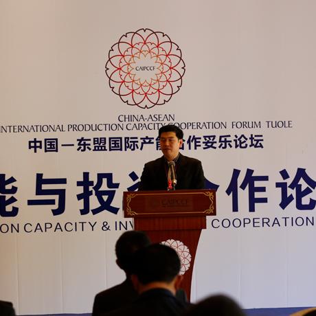 2016中國-東盟産能合作妥樂論壇産能與投資合作論壇