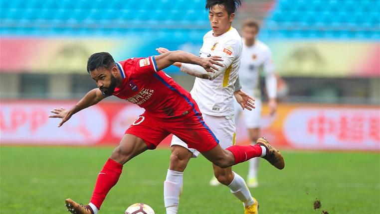 足球——中超:貴州恒豐勝重慶斯威