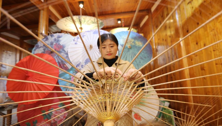 貴州赤水:竹編産業助增收