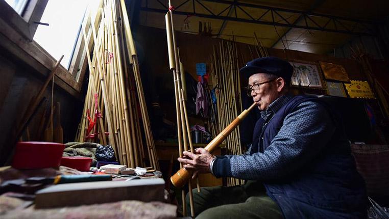 """探訪貴州丹寨的苗族""""蘆笙之家"""""""