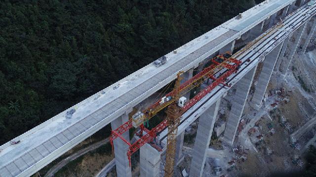 紫望高速公路加緊施工 預計年內部分通車