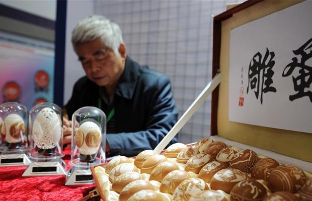 貴州:民博會上賽手藝 能工巧匠展非遺