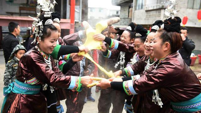 貴州黎平:侗族同胞鬧侗年