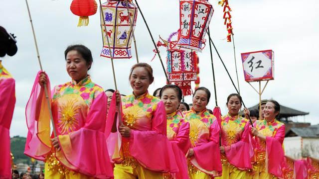 貴州岑鞏:多彩民俗慶豐收