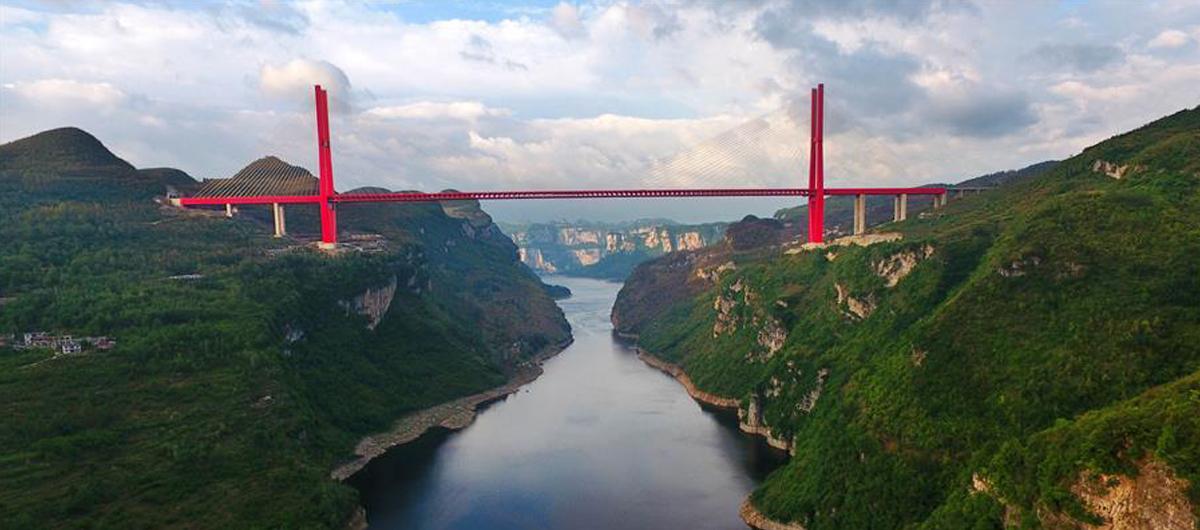 飛閱鴨池河大橋