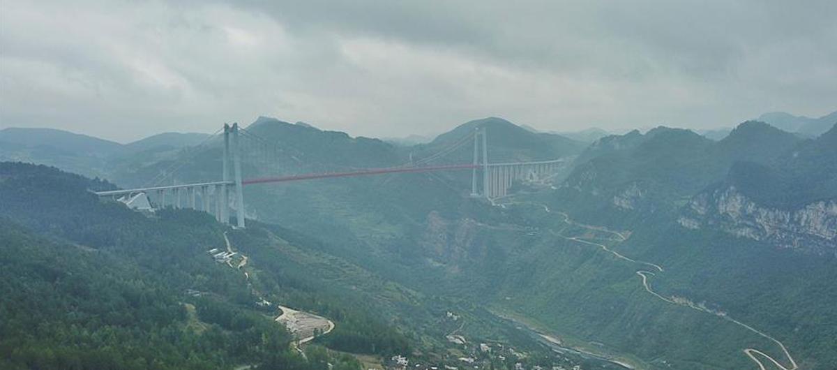 霧鎖清水河大橋