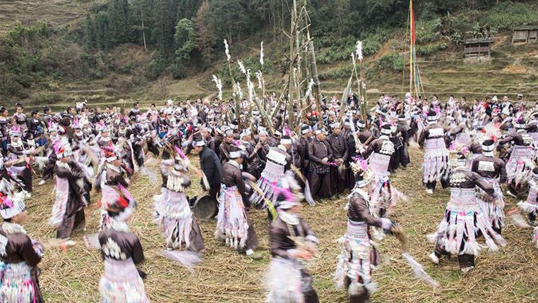貴州從江:吹蘆笙 秀盛裝