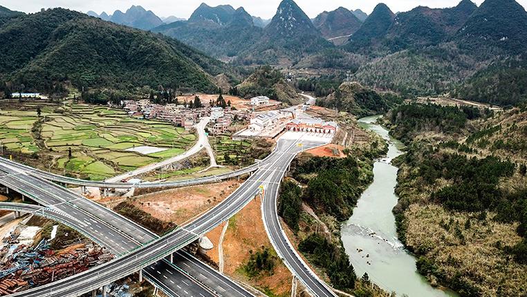 貴州三荔高速部分開通運營