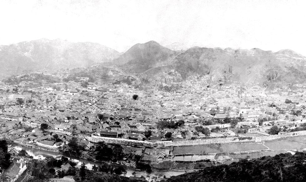 1935年的遵義城
