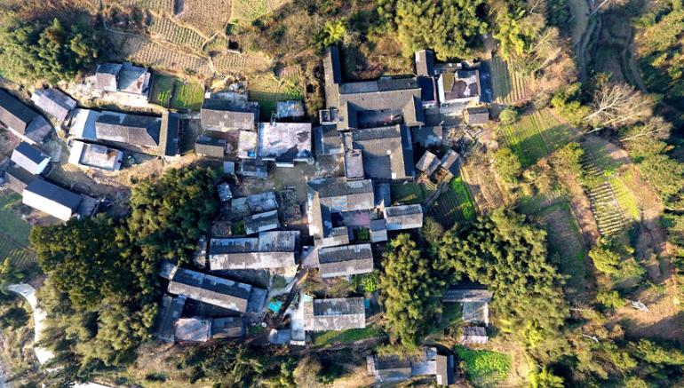 【新春走基層】航拍中國傳統村落沈家壩 感受鄉村之美