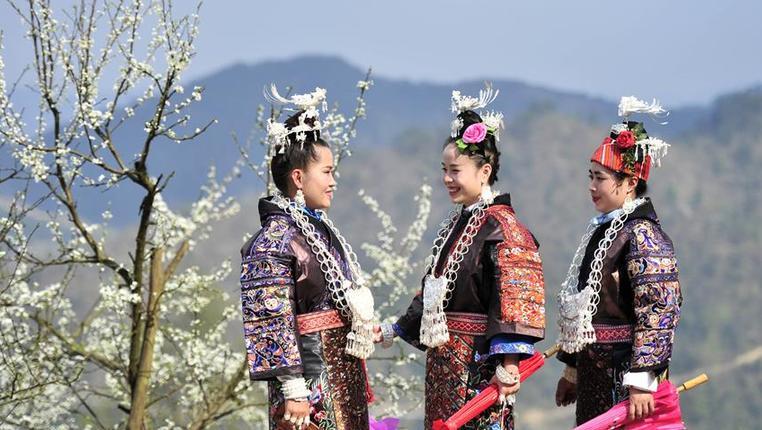 貴州臺江:春分時節秀盛裝