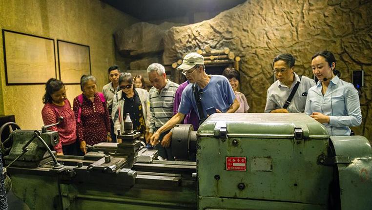 貴州:博物館裏回顧三線建設歷史