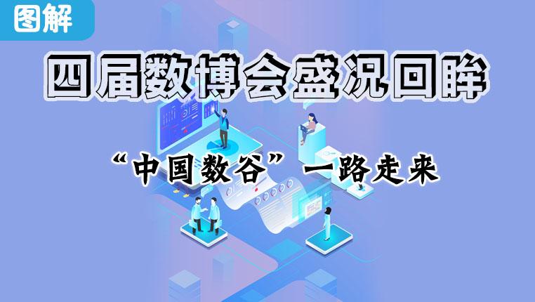 """圖解:四屆數博會盛況回眸 """"中國數谷""""一路走來"""
