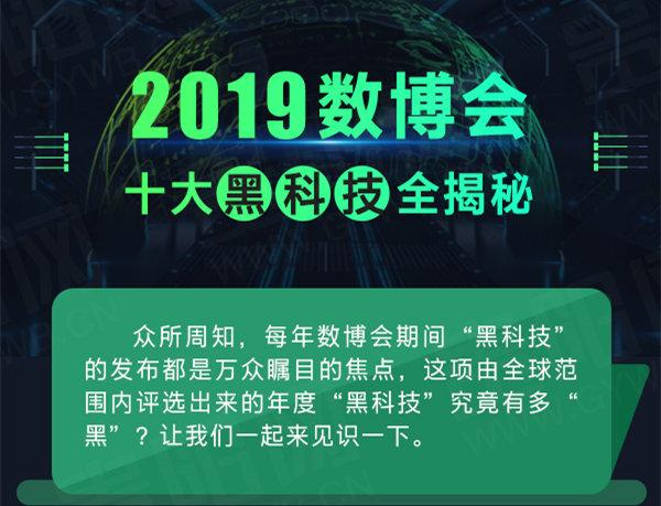 圖述新聞丨2019數博會十大黑科技全揭秘