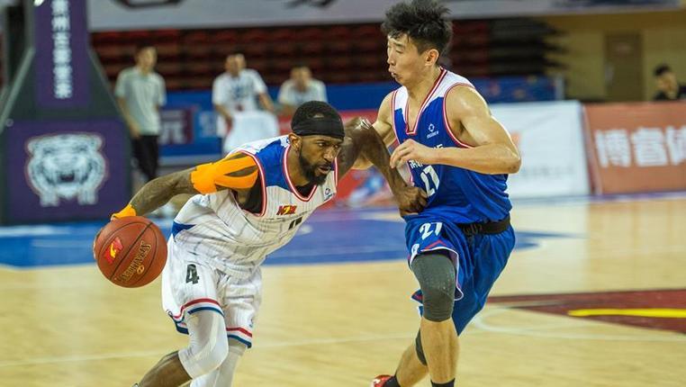 籃球——NBL:貴州古霧堂茶勝合肥原創