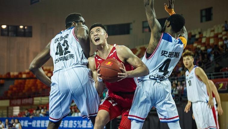 籃球——NBL:貴州古霧堂茶不敵安徽文一