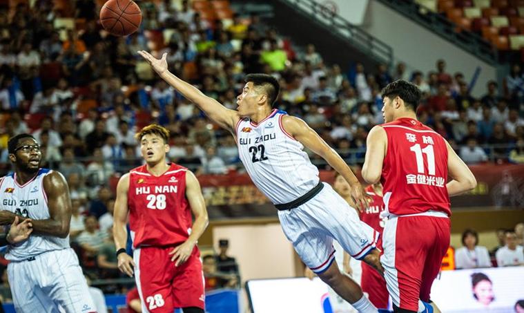 籃球——NBL:貴州古霧堂茶不敵湖南金健米業