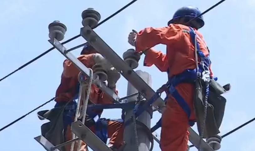 貴州沿河暴雨洪災災區已經全部恢復供電