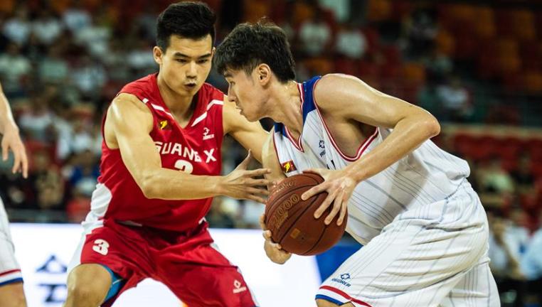 籃球——NBL:貴州古霧堂茶不敵廣西威壯