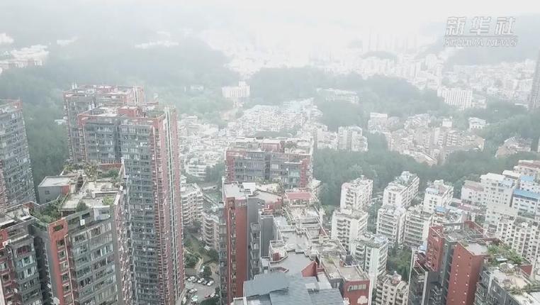 新華微視∣貴陽一棟3層民房垮塌搜救結束 造成5死2傷