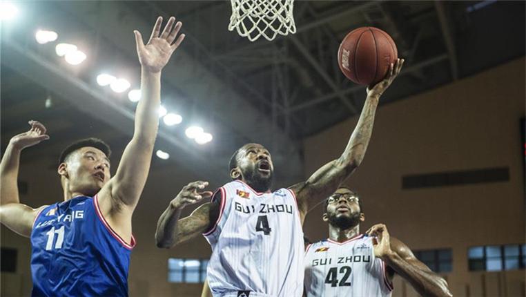 籃球——NBL:貴州古霧堂茶勝洛陽金星海象