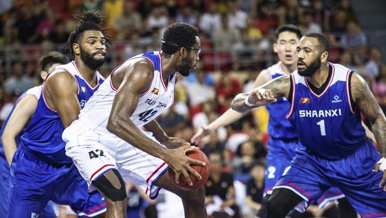 籃球——NBL聯賽:貴州古霧堂茶不敵陜西信達