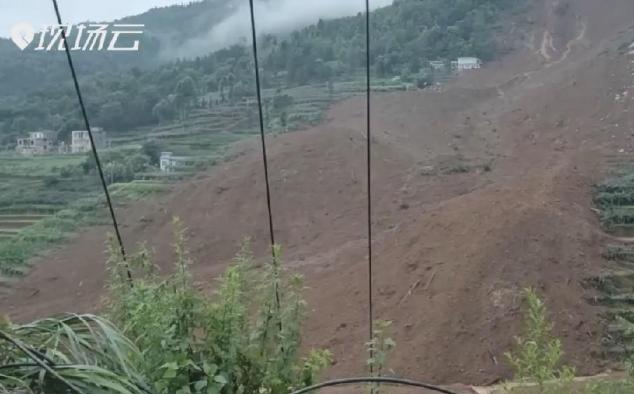 新華微視∣6人遇難 21棟房屋被埋!貴州水城縣一村寨發生山體滑坡