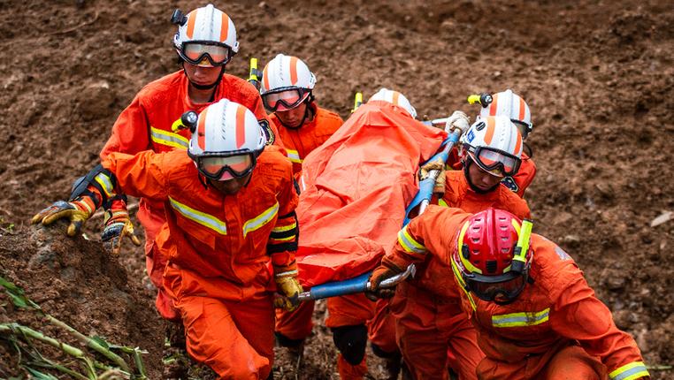 新華微視∣貴州水城特大山體滑坡已致15人死亡 仍有30人失聯