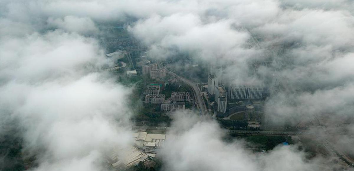 霧籠觀山湖