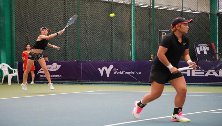 蔣欣玗/湯千慧獲2019ITF世界女子網球巡回賽·貴陽站雙打冠軍