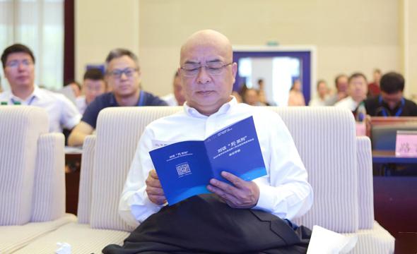 新華社總經理室副總經理潘海平出席品牌推介會