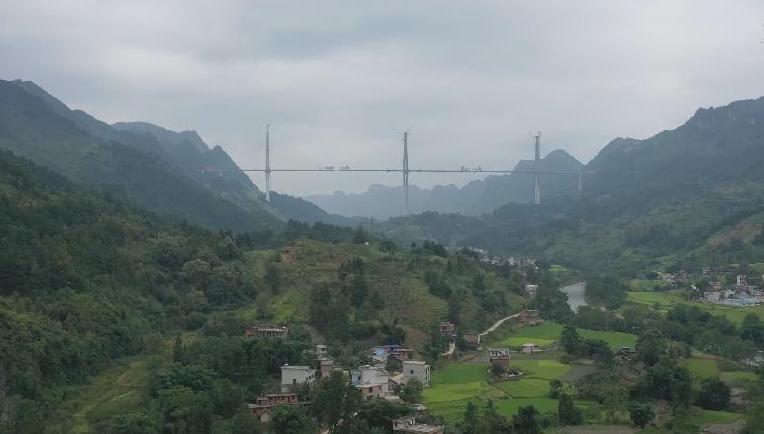 """貴州平塘這座""""世界級""""橋梁即將合龍"""
