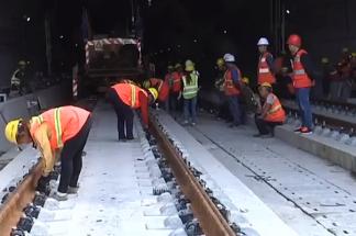 成貴鐵路完成全線鋪軌 預計今年年底全線通車