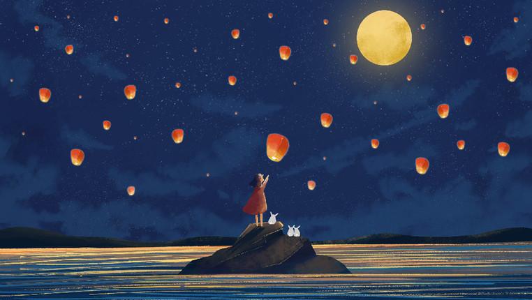 這些與月有關的詩,誰説中了你的心事
