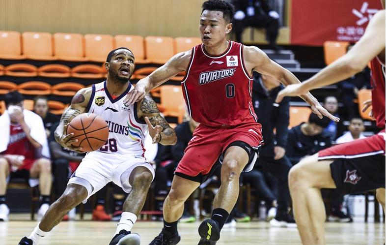 籃球——CBA季前賽:時代中國廣州勝深圳馬可波羅